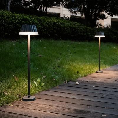 Κολωνάκι κήπου LED με καπέλο 62cm