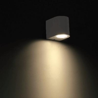 Στεγανή ημικυκλική απλίκα LED Down