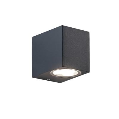 Στεγανή ορθογώνια απλίκα LED Down