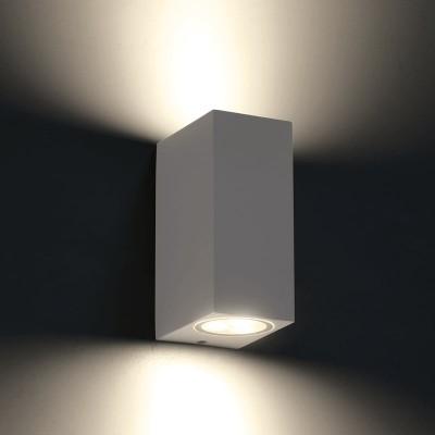 Στεγανή ορθογώνια απλίκα LED Up&Down