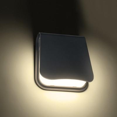 Μοντέρνα στεγανή απλίκα LED φωτεινής δέσμης 120⁰