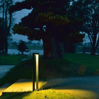 Κολωνάκι κήπου LED κυλινδρικό 55cm