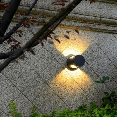 Κυλινδρική απλίκα LED Up&Down Ø10.8cm