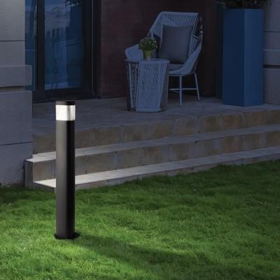 Μεταλλικό κολωνάκι κυλινδρικό Ø10cm LED