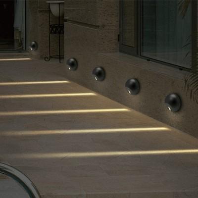 Στεγανή απλίκα LED Ø12cm φωτισμού 18º