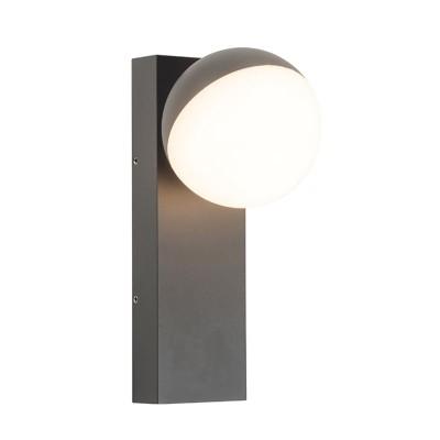Στεγανή απλίκα LED με περιστρεφόμενη κεφαλή γλόμπο Ø9cm