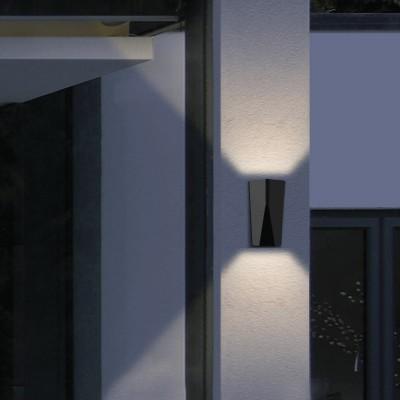 Στεγανή απλίκα LED Up&Down με ρύθμιση φωτισμού