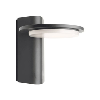 Στεγανή απλίκα LED με κεφαλή Ø16cm