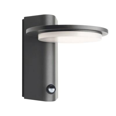 Στεγανή απλίκα LED Ø16cm με αισθητήρα κίνησης