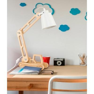 Παιδικό πορτατίφ LED ξύλινος γερανός