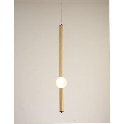 Γραμμικό φωτιστικό με γλόμπο LED Ø4x95cm