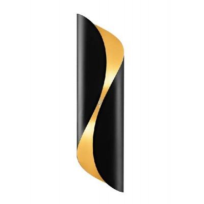 Μοντέρνα μαύρη απλίκα εσωτερικά χρωματισμένη