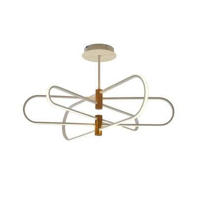 Φωτιστικό ημιοροφής Ø90cm LED dimmable