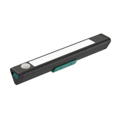 Φακός LED μαύρη ράβδος 18cm με αισθητήρα κίνησης