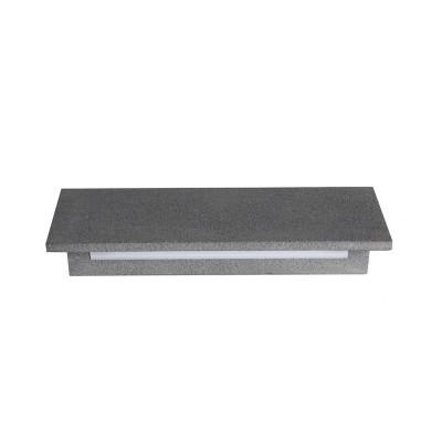 Γραμμική τσιμεντένια απλίκα LED στεγανή 22cm