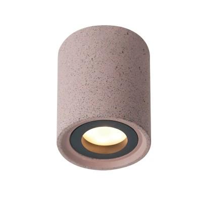 Τσιμεντένιο κυλινδράκι οροφής Ø8.5cm μονόφωτο GU10