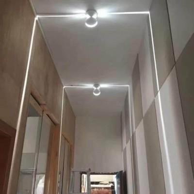 Φωτιστικό τοίχου αρχιτεκτονικού φωτισμού με φακό 360° LED 6000K