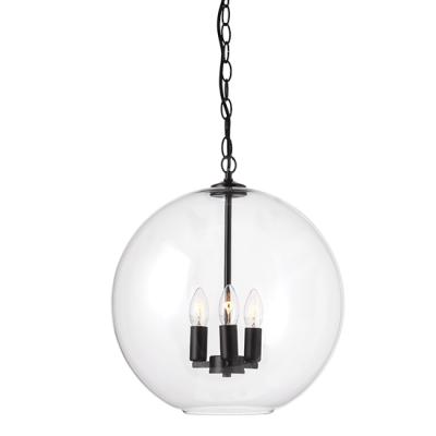 Vintage τρίφωτη γυάλινη μπάλα Ø40cm ACA
