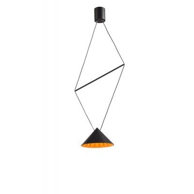 Κρεμαστή τριγωνική καμπάνα LED με διπλή ανάρτηση