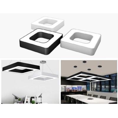 Κρεμαστό φωτιστικό LED τετράγωνο 60x60cm