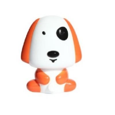 Παιδικό φωτάκι νυκτός με διακόπτη On/Off σκυλάκι πορτοκαλί