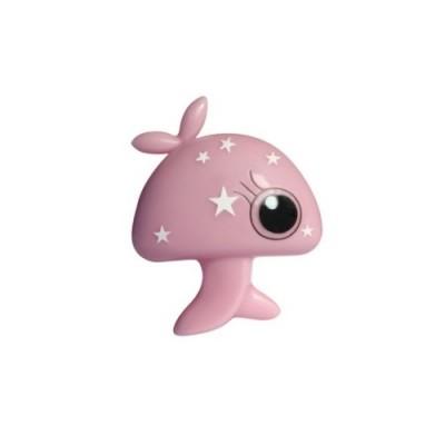 Παιδικό φωτάκι νυκτός ροζ μανιτάρι με διακόπτη On/Off