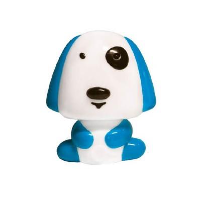 Παιδικό φωτάκι νυκτός με διακόπτη On/Off σκυλάκι μπλε