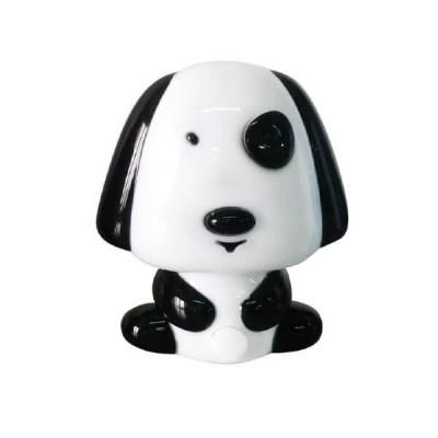 Παιδικό φωτάκι νυκτός με διακόπτη On/Off σκυλάκι μαύρο