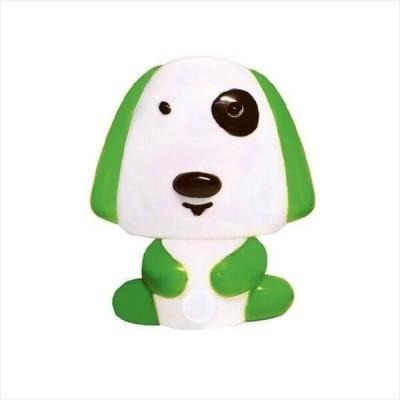 Παιδικό φωτάκι νυκτός με διακόπτη On/Off σκυλάκι πράσινο
