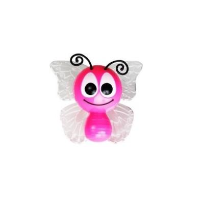 Παιδικό φωτάκι νυκτός πεταλούδα LED RGB με φωτοκύτταρο