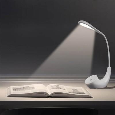 Φωτιστικό γραφείου αφής LED 4500K επαναφορτιζόμενο λευκό