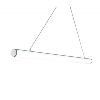 Ασημί κρεμαστός κυλίνδρος Ø6cm LED