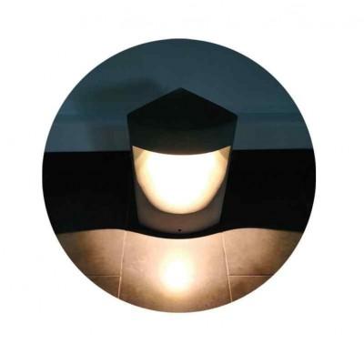 Τριγωνικό κολωνάκι LED 35cm στεγανό