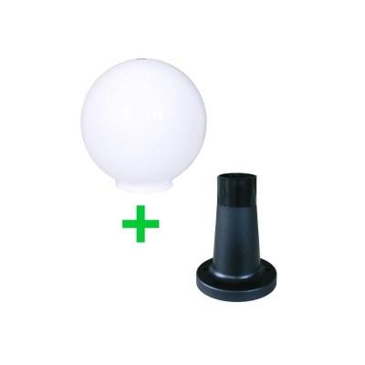 Στεγανή μπάλα δαπέδου Ø30cm με βάση 18cm