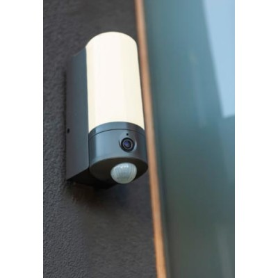Κυλινδρική απλίκα με αισθητήρα κίνησης, κάμερα, μικρόφωνο