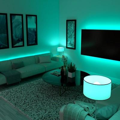 Έτοιμο σετ λεντοταινία RGB εσωτερικού χώρου 5m 4.8W