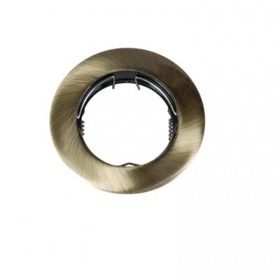 Χωνευτό σποτ μεταλλικό Ø8cm