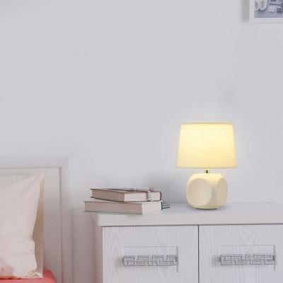 Φωτιστικό κομοδίνου με αμπαζούρ Ø18cm