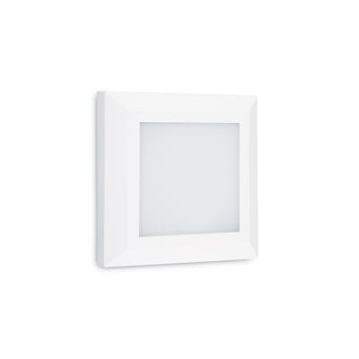 Τετράγωνη απλίκα 12.5cm διάχυτου φωτισμού LED