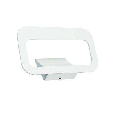 Απλίκα λευκή αλουμινίου LED 15x30cm