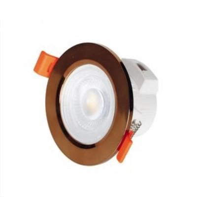 Χωνευτό σποτ Ø8.6cm με τρύπα κοπής Ø7cm LED 7W