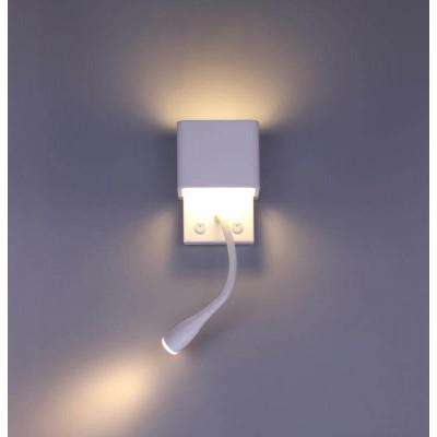 Μεταλλική απλίκα reading με LED φωτισμό UP & DOWN
