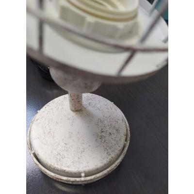 Τετράφωτη σπαστή ράγα οροφής με σποτ 68cm λευκό σκουριά