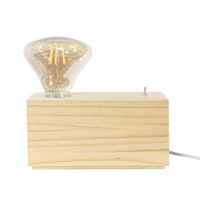 Mini ορθογώνιο ξύλινο πορτατίφ ACA