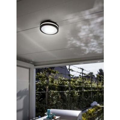 Στεγανό στρογγυλό φωτιστικό τοίχου ή οροφής Ø26cm