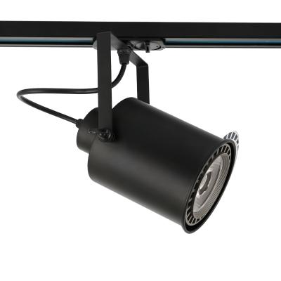 Kυλινδρικό σποτ ράγας μεταλλικό πατίνα Ø11x17cm μονοφασικό