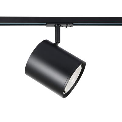 Μονοφασικό αλουμινένιο σποτ ράγας Ø12x13cm GU10 AR111
