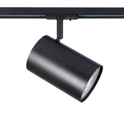 Μονοφασικό αλουμινένιο σποτ ράγας Ø10x16cm E27 PAR30