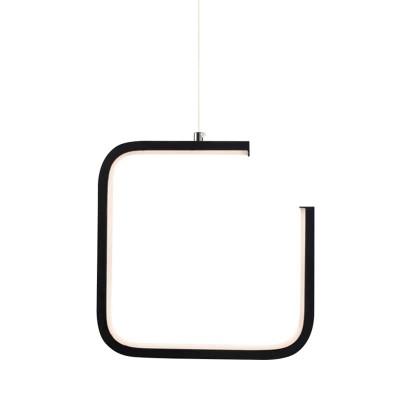 Κρεμαστό φωτιστικό LED ανοιχτό τετράγωνο 22x22cm