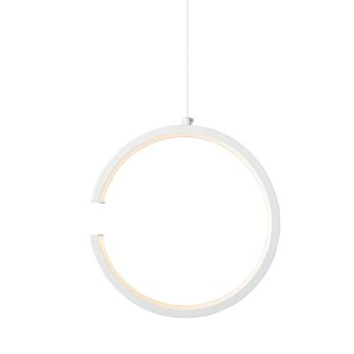 Κρεμαστό φωτιστικό LED ανοιχτός κύκλος Ø22cm